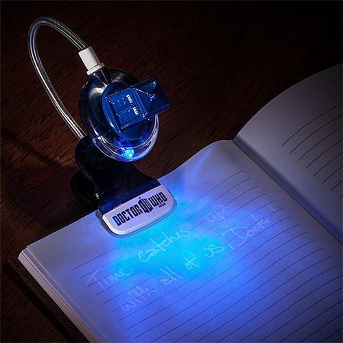 Doctor Who TARDIS Inspired Book Light