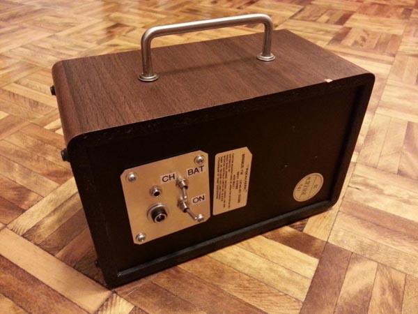 Handmade Retro Hi-Fi Portable Speaker
