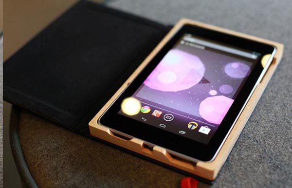 Handmade Wood Google Nexus 7 Case
