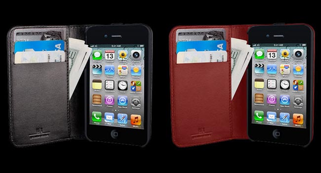 HEX Axis Wallet iPhone 4 Case