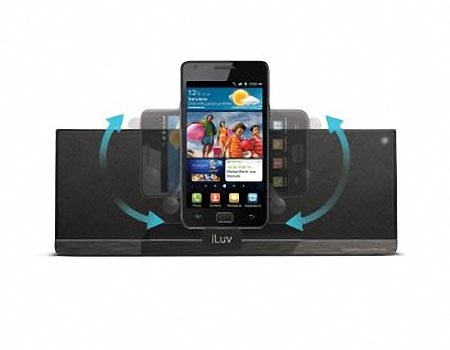 iLuv MobiAir Wireless Speaker Dock for Smartphones