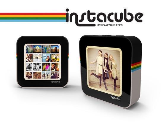 Instacube Instagram Based Digital Pboto Frame