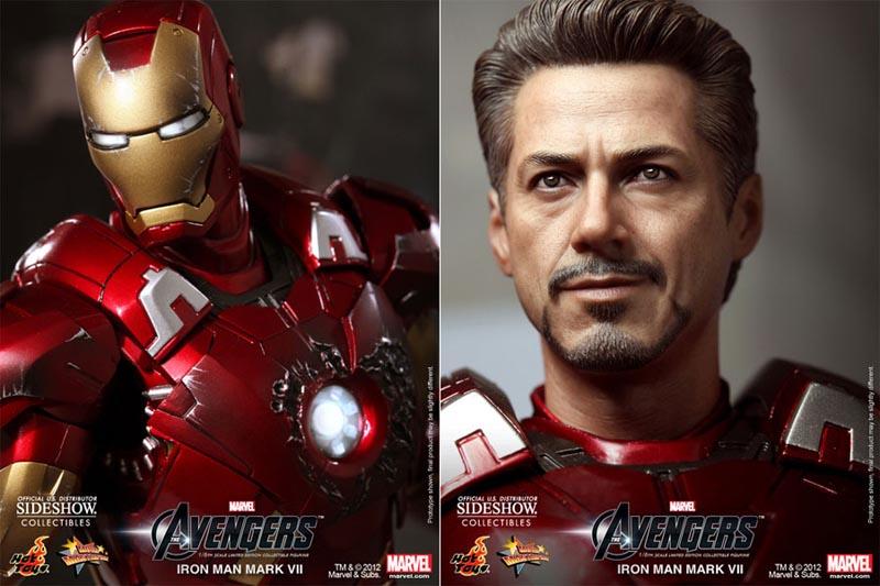 Iron Man Mark VII Collectible Action Figure | Gadgetsin
