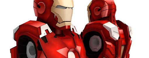 Iron Man Mark VII Paper Craft