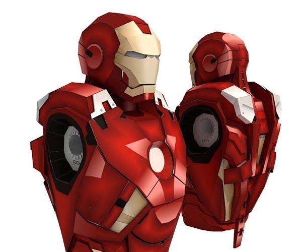 Iron Man Mark VII Paper Craft