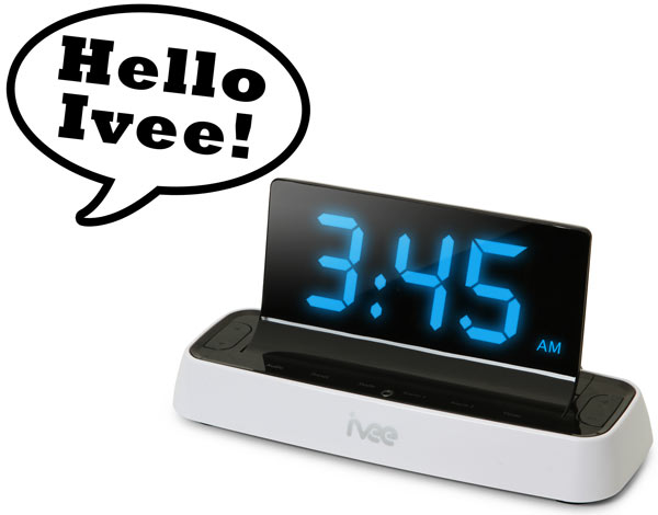 Ivee Voice Activated Alarm Clock