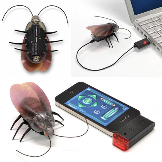 JTT iOS Powered Remote Control Cockroach