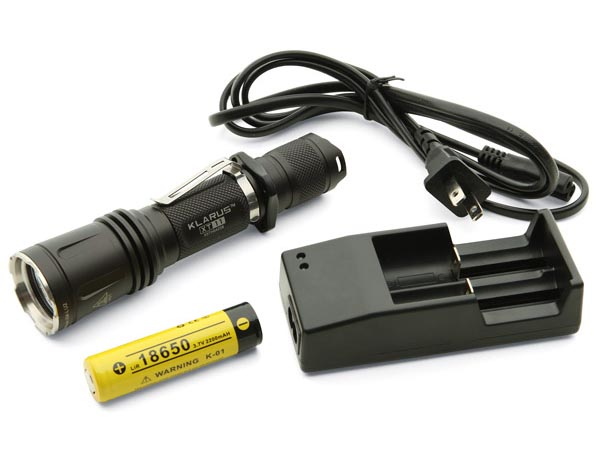 Klarus XT11 600 Luman LED Tactical Flashlight