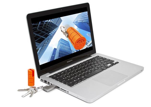 LaCie RuggedKey USB Flash Drive