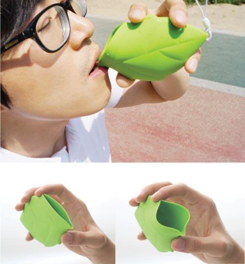 Leaf Styled Pocket Cup