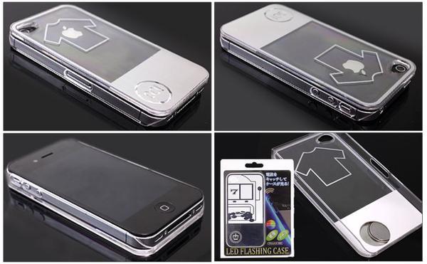 LED Flashing iPhone 4 Case