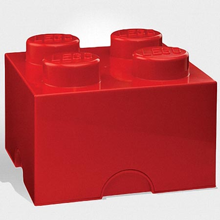 LEGO Brick Shaped Storage Container