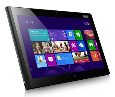 Lenovo Announced Thinkpad 2 Windows 8 Tablet