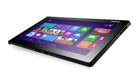 Lenovo Announced Thinkpad 2 Windows 8 Tablet