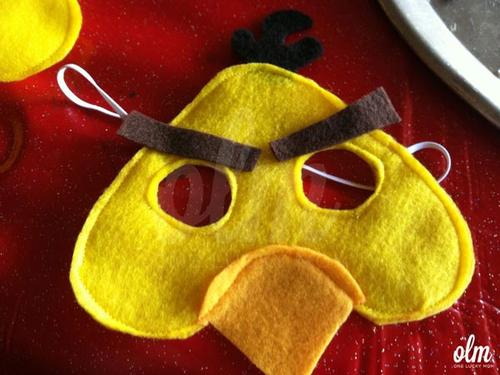 Make Your Own Angry Birds Felt Masks