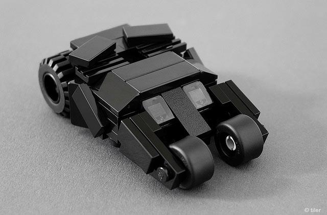 Minimalistic Lego Batmobiles Gadgetsin