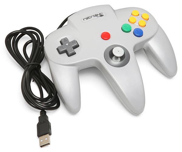N64 USB Game Controller