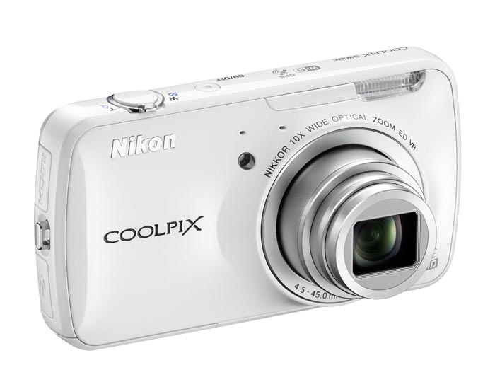 Nikon Coolpix S800c Android Based Digital Camera