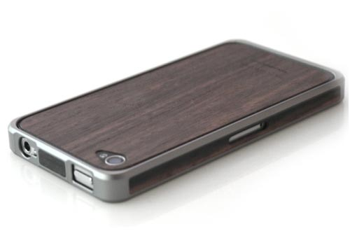 Patchworks Alloy X Wood iPhone 4 Case