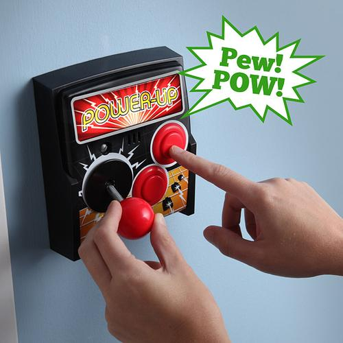 Power-Up Arcade Joystick Light Switch Plate