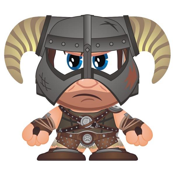 Skyrim Dragonborn Mini Figure