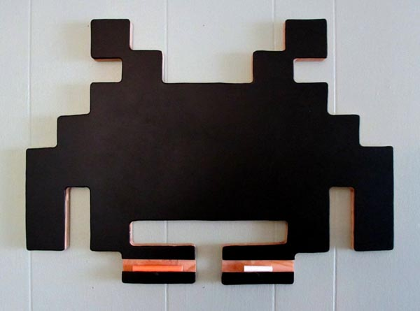 Space Invaders Inspired Chalkboard