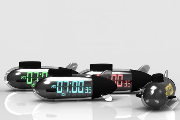 Sub Morning Alarm Clock