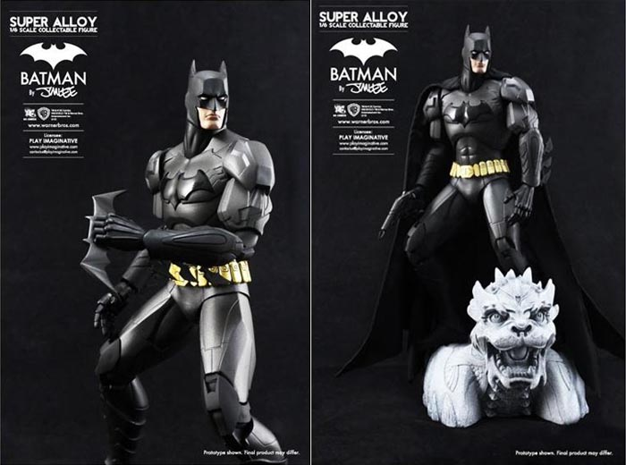 Super Alloy Batman Collectible Action Figure