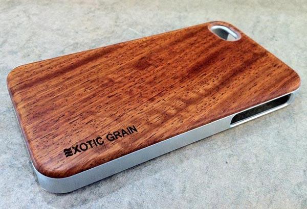 The Handmade Wood iPhone 4S Case