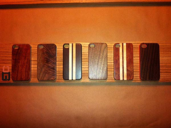 The Handmade Wood iPhone 4S Case