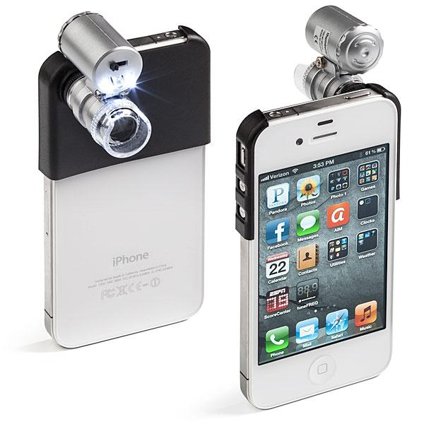 The Mini Microscope for iPhone 4 and 4S