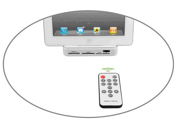The Multi Functional Docking Station for iPad
