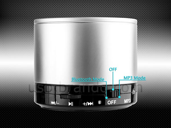 The Portable Wireless Speaker with MP3 Player