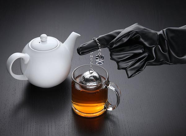 The Star Wars Death Star Tea Infuser