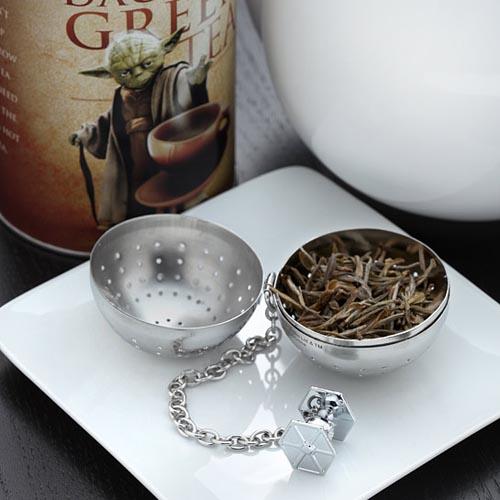 The Star Wars Death Star Tea Infuser