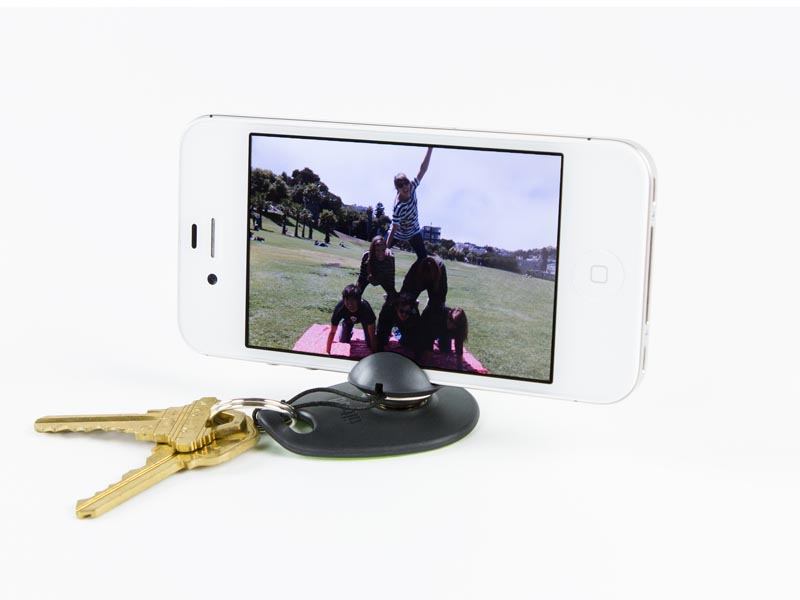 Tiltpod Mobile Keychain Tripod for iPhone 4 and 4S