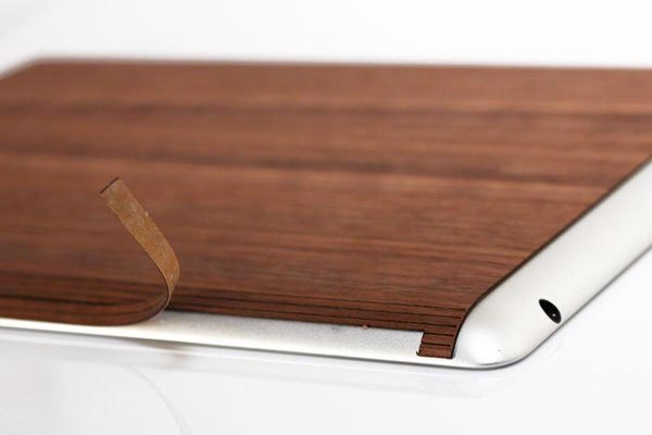 Toast Wood iPad Cover