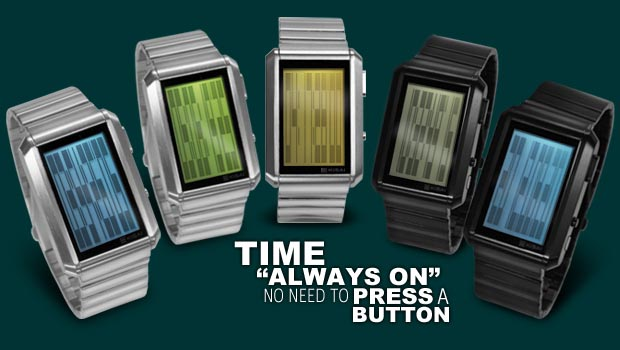 Tokyoflash Kisai Upload LCD Watch