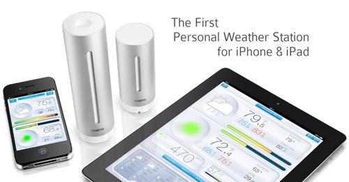 Netatmo Personal Weather Station for iOS and Android Devices