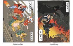 Ukiyo-e Heroes Print Set