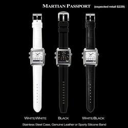 Martian Voice Command Wrist Watch