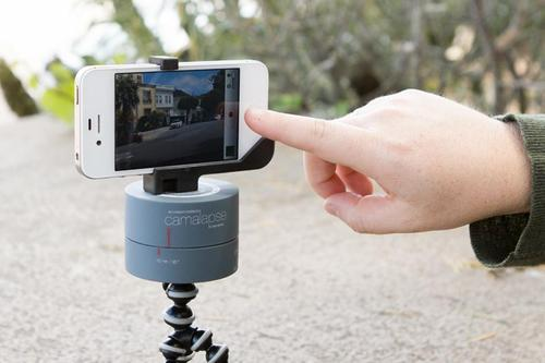 The Camalapse Slow Rotating Stand for Time-lapse Videos