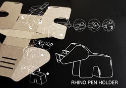 D.I.Y Eco Animal Shaped Cardboard Gadgets