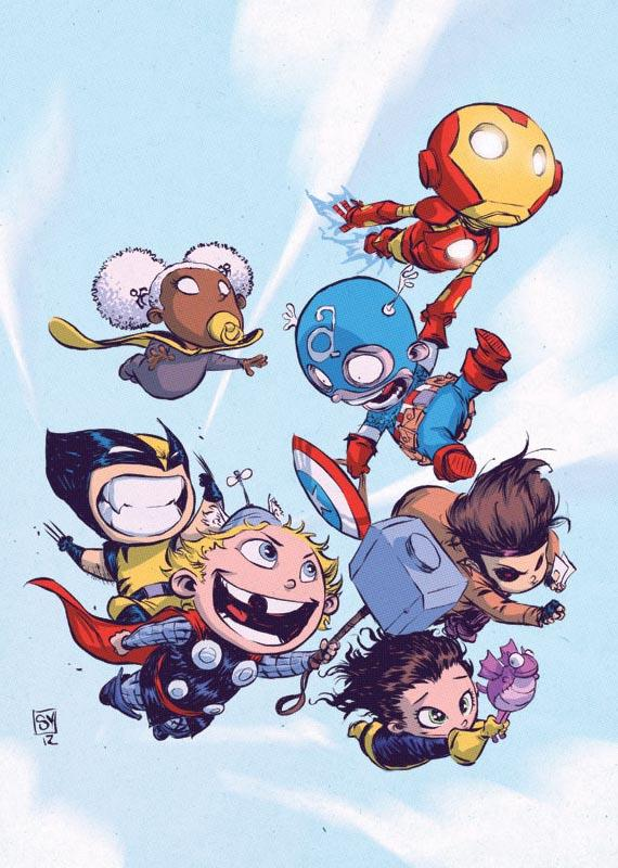 Adorable Superhero Babies