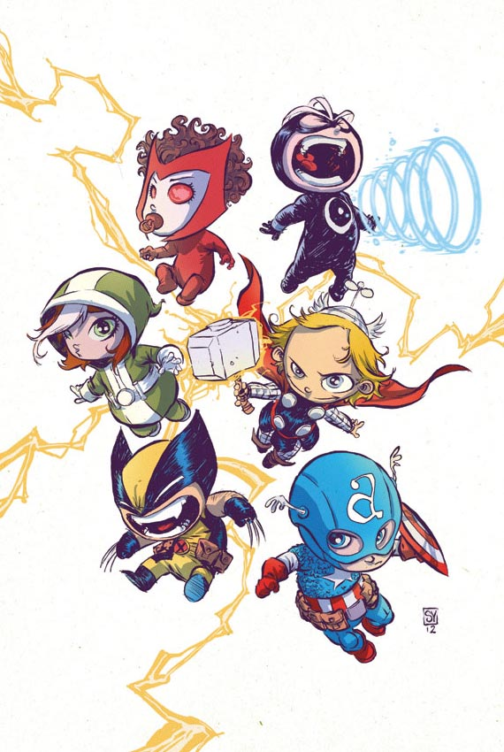 Adorable Superhero Babies  Gadgetsin