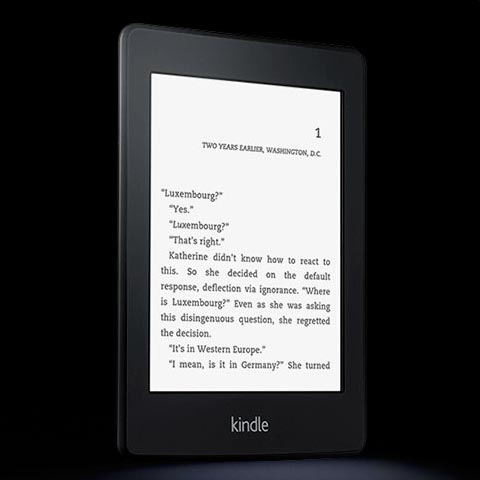 Amazon Kindle Paperwhite E-Reader Announced