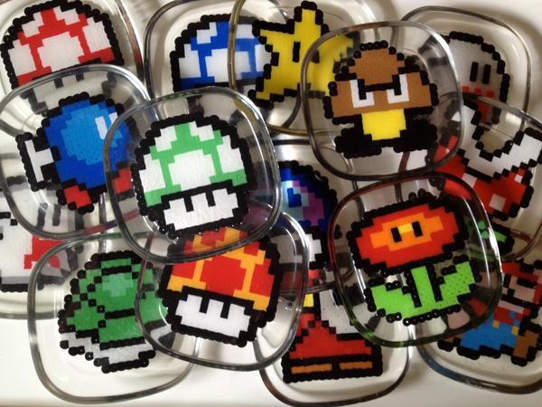 Another Handmade Super Mario Bros Coaster Set