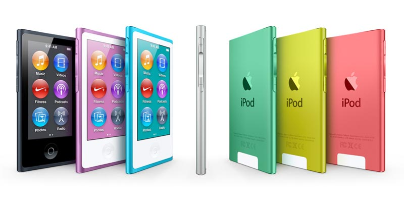 Apple The New 7th Generation iPod Nano