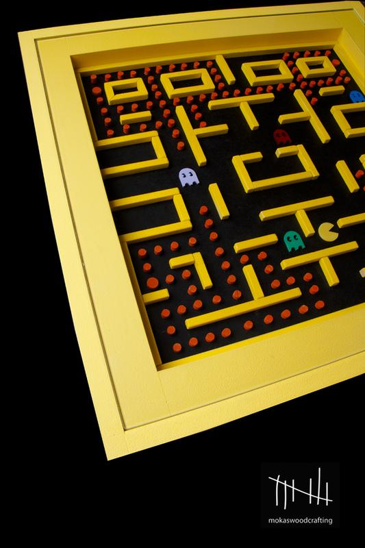 Awesome Wood Pac Man Table Gadgetsin
