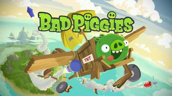 Bad Piggies The Sequel of Angry Birds Now Available